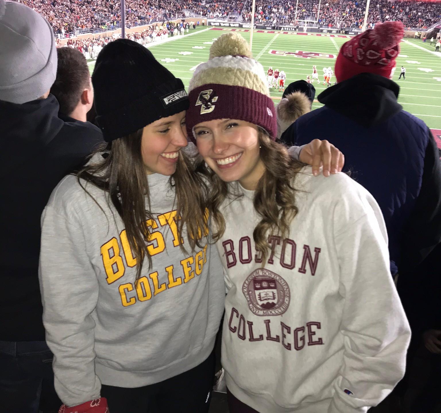 Anabel and I at BC