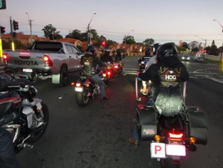 Dinner and Night Ride From Massey Park Golf Club