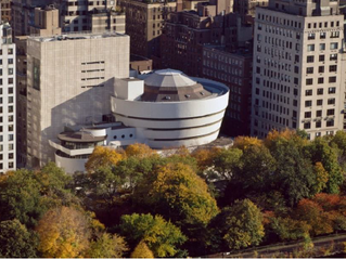 Biker Article –– Guggenheim Museum, New York City