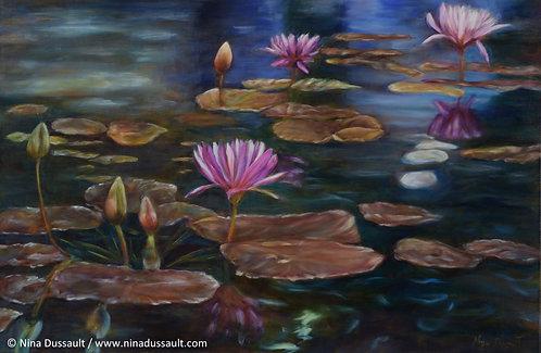 Le réveil de l'étang