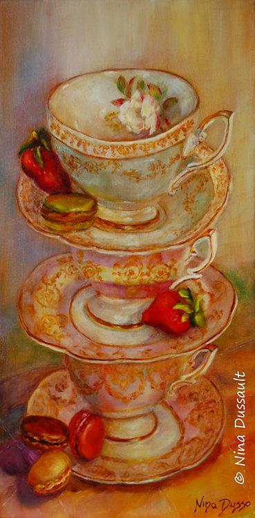 Invitation pour le thé