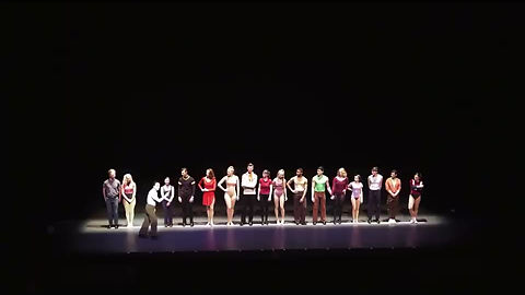 "James Silvertsein performing ""I Can Do That"" as ""Mike"" in The Madison Theater's Spring 2019 production of ""A Chorus Line"", under the direction of Luis Villabon."