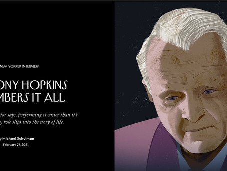 Anthony Hopkins REMEMBERS IT ALL
