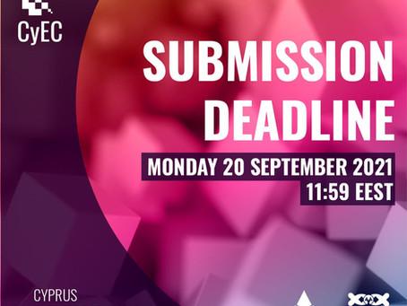 Deadline for 21st Cyprus Entrepreneurship Competition: 20 September 2021