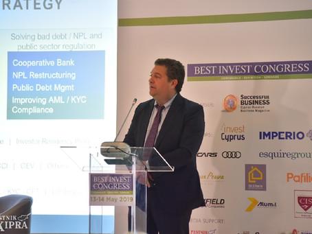 Philip Ammerman provides keynote speech at BestInvest Cyprus 2019