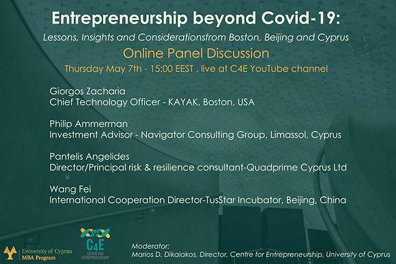 Entrepreneurship beyond COVID-19: