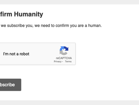 Confirm your humanity