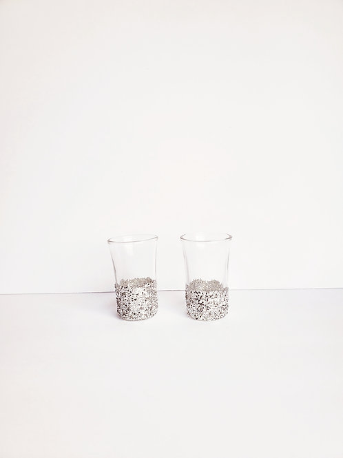 Custom Glitter Shot Glasses