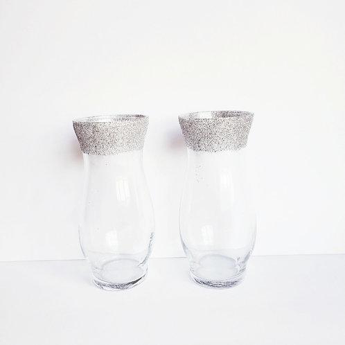 Custom Dipped Floral Vases