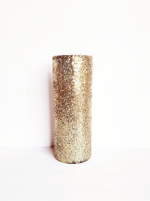 Custom 8.9in Glass Vase