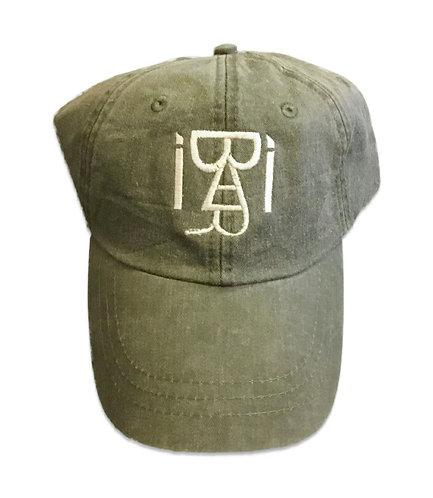 Distressed Dad Hat (Olive)