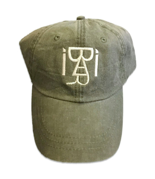 d376c0557 Distressed Dad Hat (Olive)