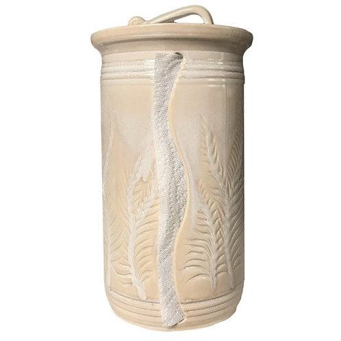 Sea Salt Caramel | Carved Leaves Design