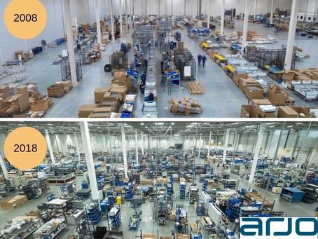 Optymalizacja Layoutu i Transfer fabryki ze Szwecji
