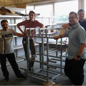 Warsztat montażu konstrukcji modułowych