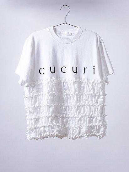 kumo stripe logo T-shirt