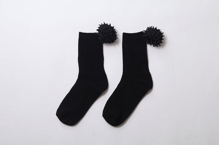kumo socks / BLK
