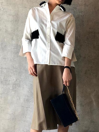 kumo belt blouse/black