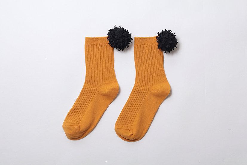 kumo socks / YEL