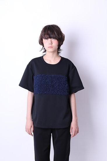 miura blocking big T / BLK×NVY