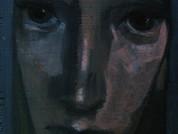 10- COnStAnCE 29x15cm -  Acrylique et pastel sur bois