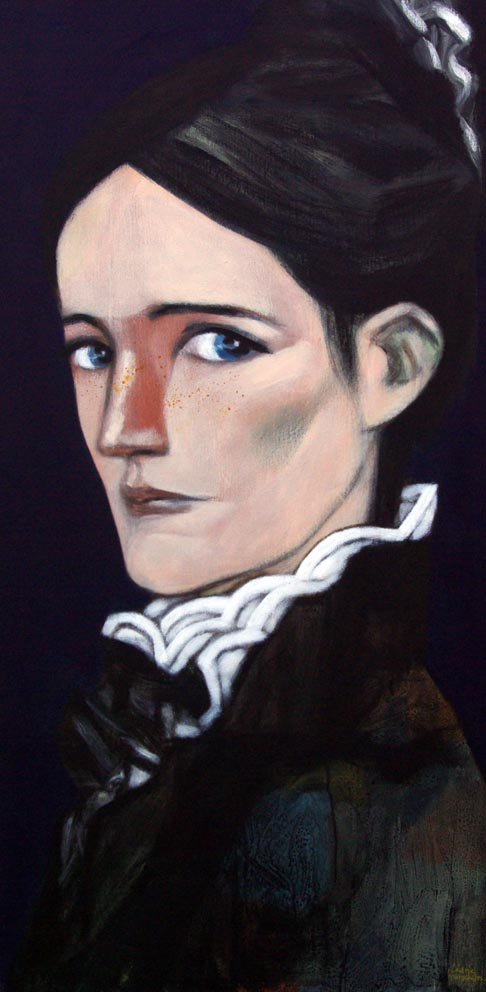 MiSS AdLEr (tHE wOMAn)100x50cm