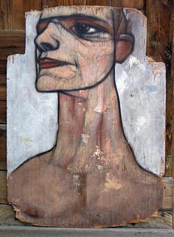 ONirONaUtE52 70x49cm sur bois