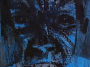 2- éCORChé 46x33cm -  Acrylique et pastel sur carton entoilé