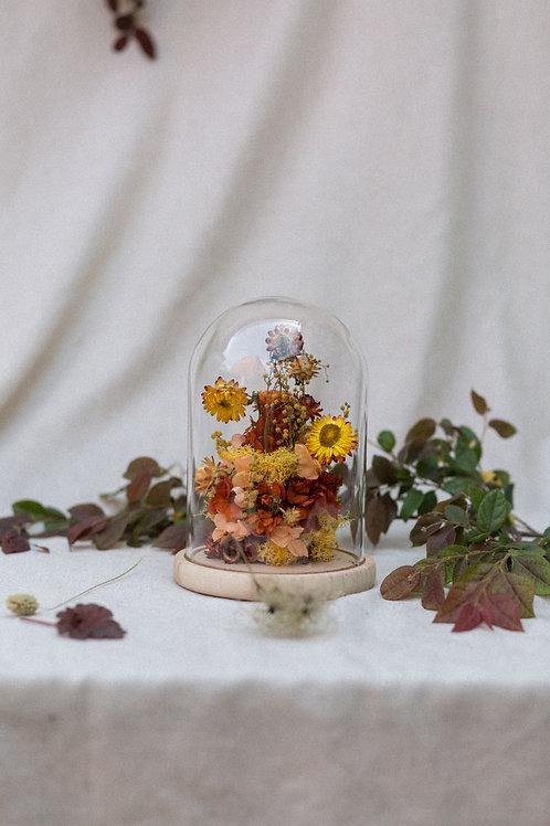 Cúpula floral grande
