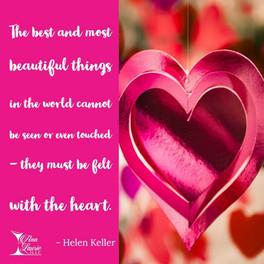 #WiseWords from Helen Keller ...