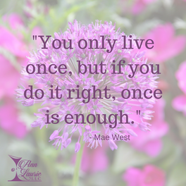 #WiseWords from Mae West...