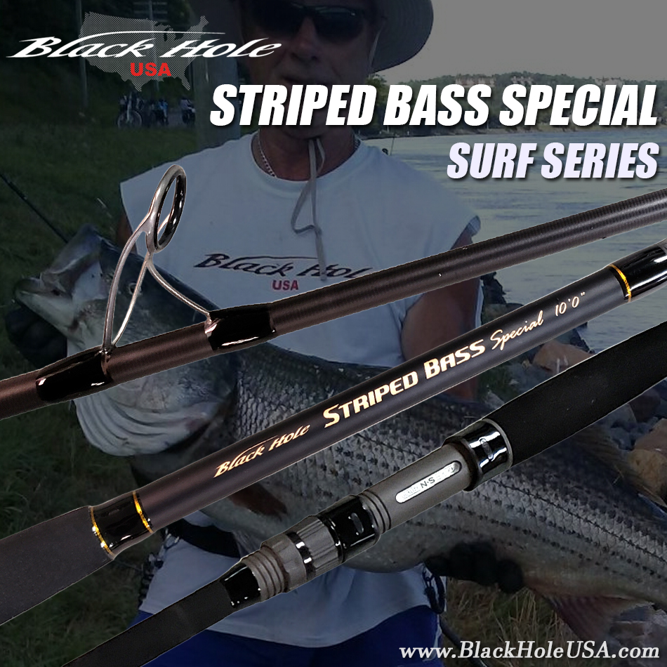 BH STRIPED BASS ROD FRONT