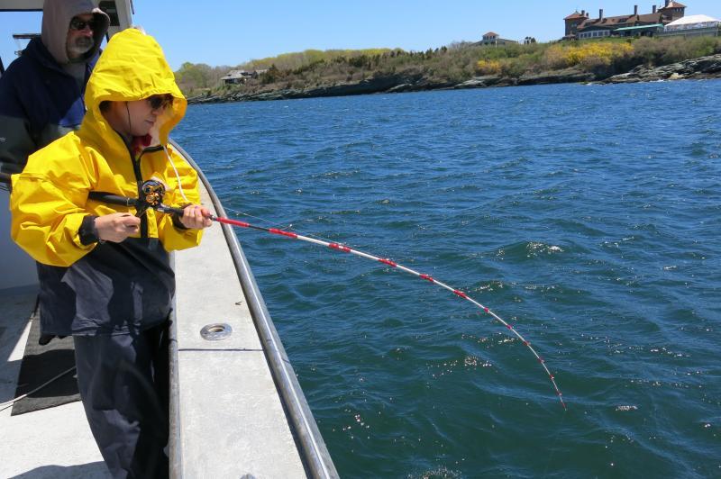 Tautog fishing