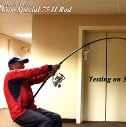 Cow Special II 75 Popping Rod