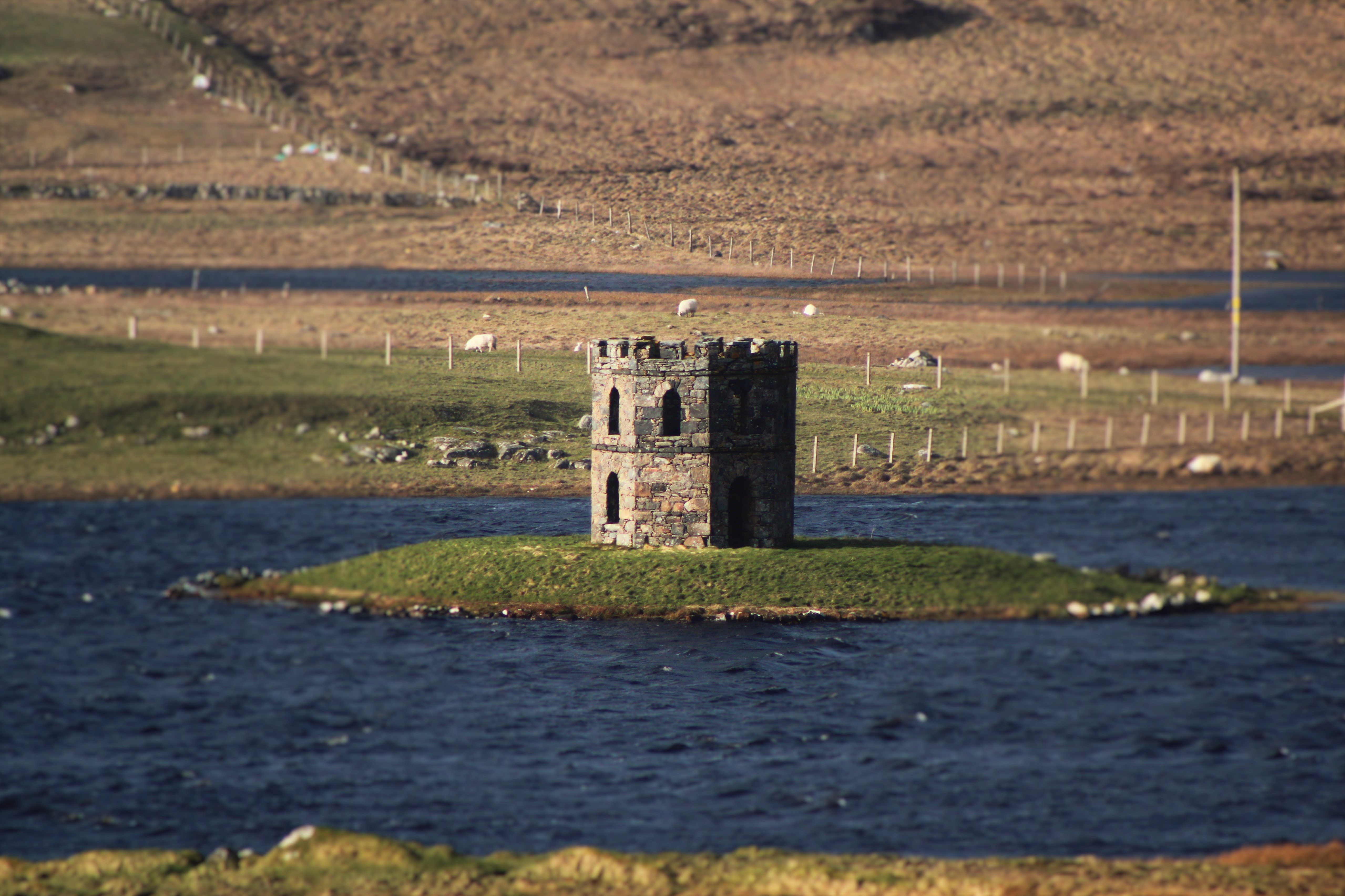 Scolpaig Tower, Isle of North Uist