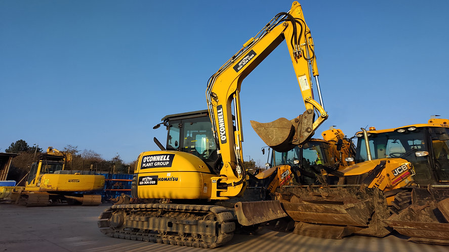 O'Connell Plant & Groundworks LTD Komatsu Mini Digger in East London Silvertown
