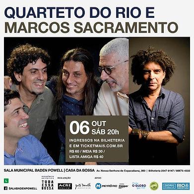 Quarteto do Rio e Marcos Sacramento