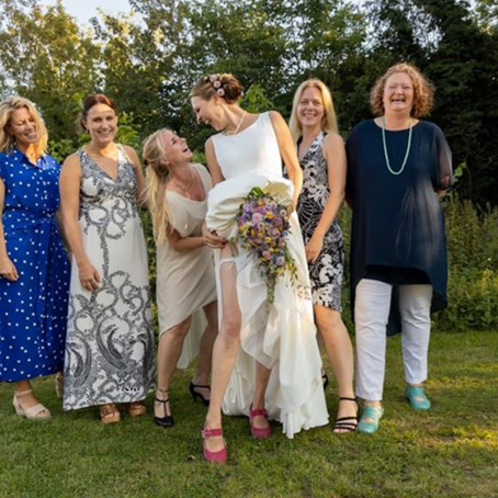 Line: Mit bryllup var alt, hvad vi drømte om...
