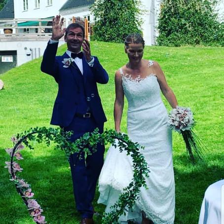 Dorthe: Mit bryllup var magisk og inspireret af kærligheden...