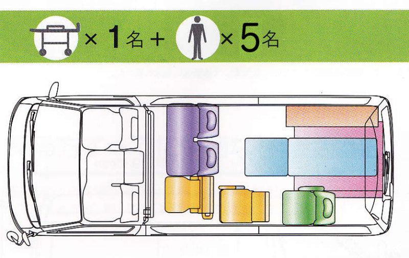 介護タクシー,ケアタクシー,東京,豊島区,ストレッチャー,福祉輸送車