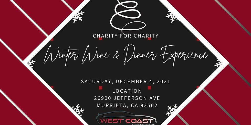 Winter Wine and Dinner Experience