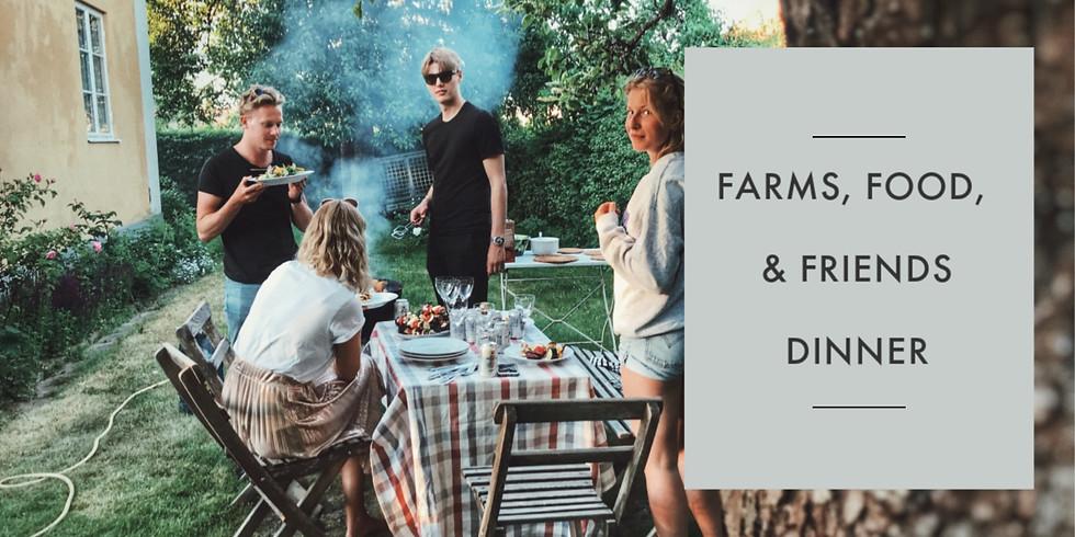 Summer Farms, Food, & Friends Dinner