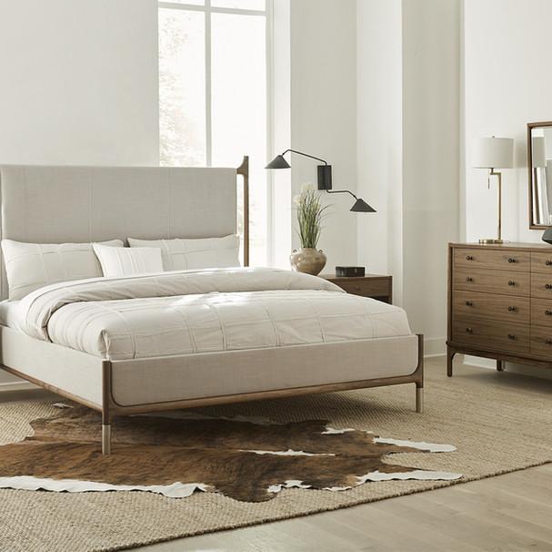 Walnut Grove   Upholsterd Bedroom