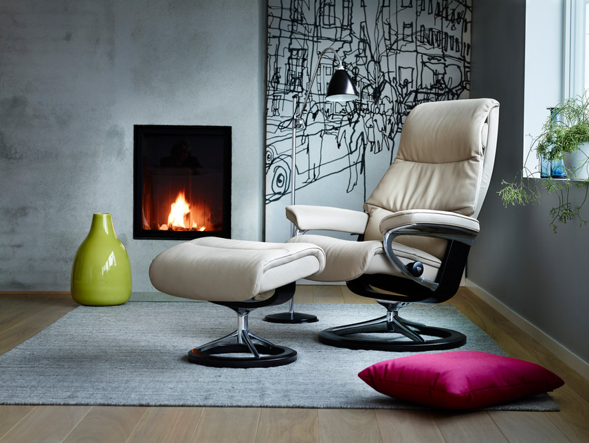 Stressless - View - Cori Beige