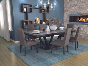 Country View Woodworking Furniture | Serena Dining Room Collection
