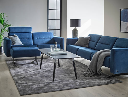 Stressless Stella Sofa Rose Blue