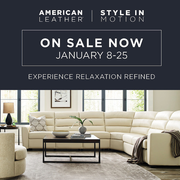 American Leather Style in Motion Sale