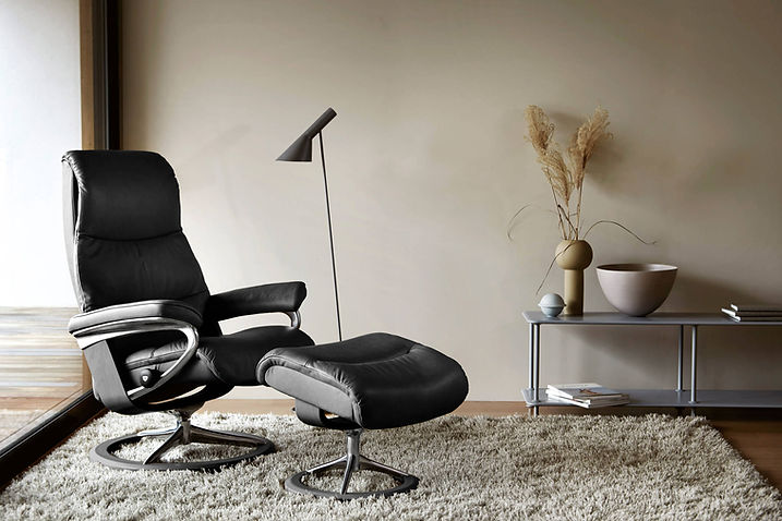 Stressless+View_Signature_Pal_Black_blac