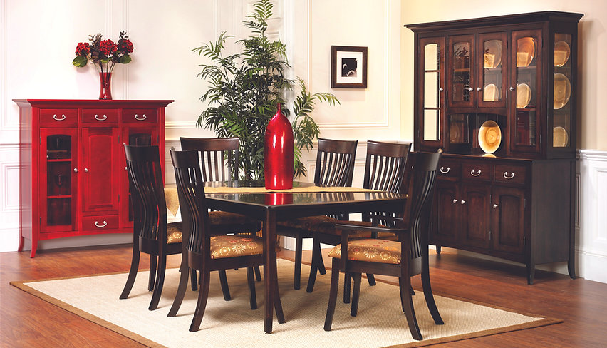 Country View Woodworking Furniture | English Shaker Dining Room