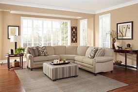 Smith Brothers Furniture | Living Room 397-C with Fabric Sectional